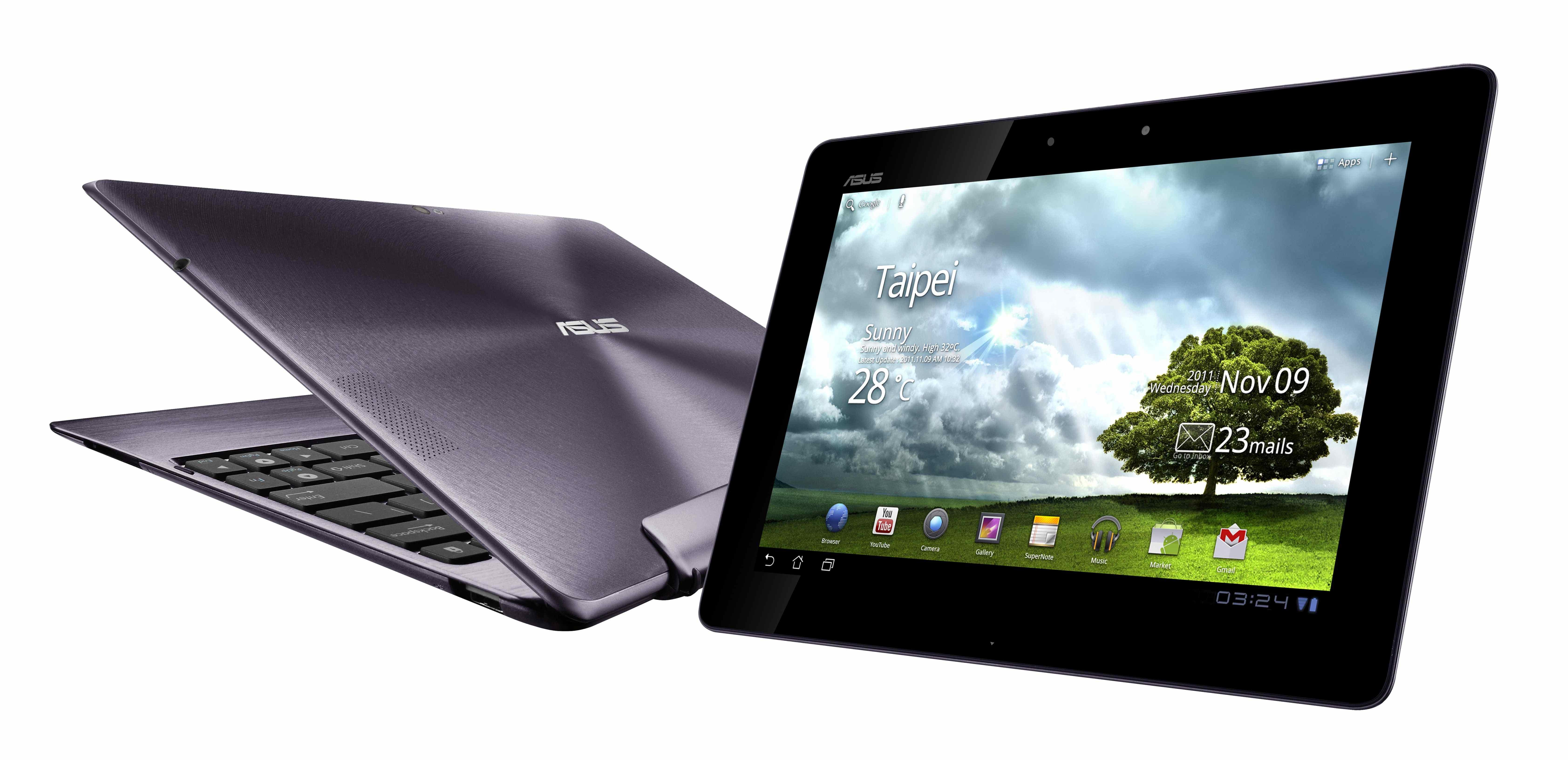 Asus mit neuen Tablets und Ultrabooks auf der CES in Las ...