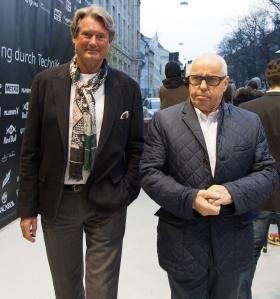 ADAC-Sportpräsiden Hermann Tomczyk und Hans-Werner Aufrecht, ITR-Boss (c)Erich Hirsch