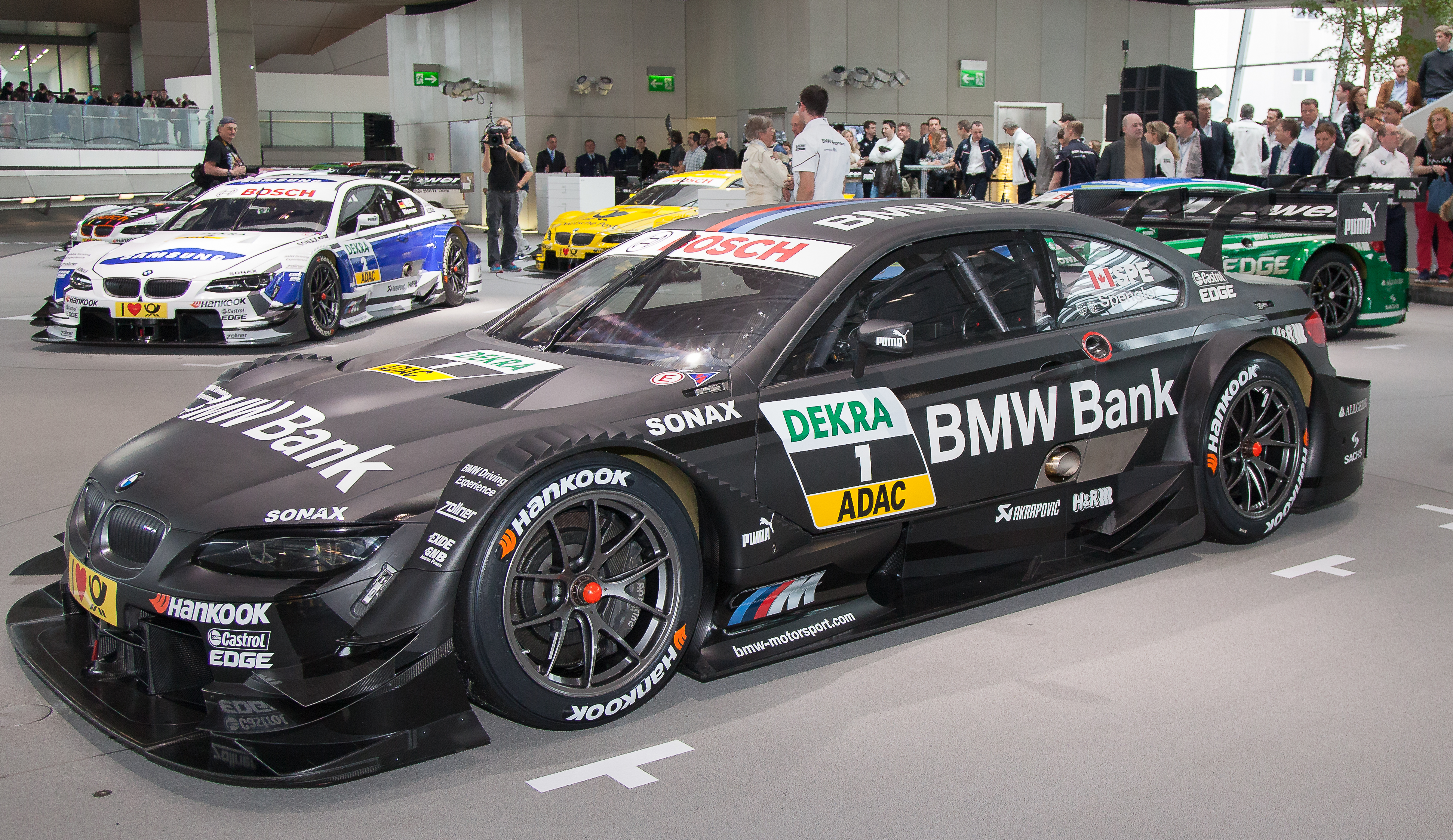 Bmw Motorsport Launches Its Cars For The 2013 Dtm Season