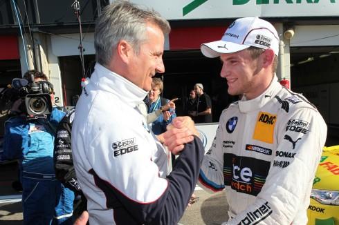 Feiert seine erster Pole,Marco Wittmann, BMW (c)BMW