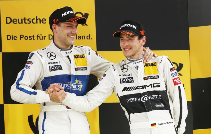 DTM_2013_Lausitz__Paffett und Vietoris (c)Mercedes