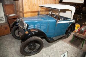Der erste BMW-PKW im Traktormuseum Uhldingen-Mühlhofen am Bodensee (c)Erich Hirsch