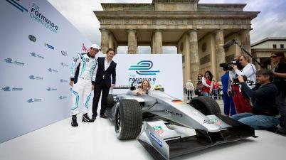 Die Formel E in Berlin (c)FormulaE