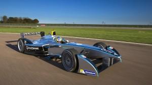 Formel E Fahrzeug mit Lucas di Grassi (c)FIA
