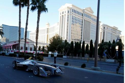 Formel E in Las Vegas (c)FormulaE