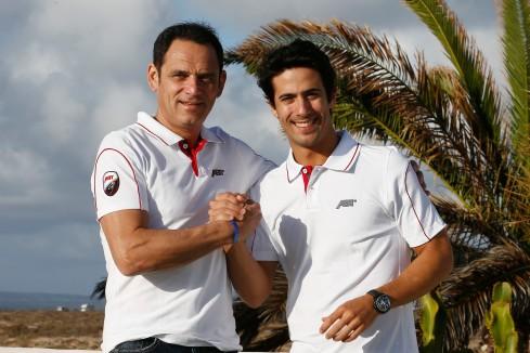 Teamchef Hans-Jürgen Abt und Lucas di Grassi (c)FIA