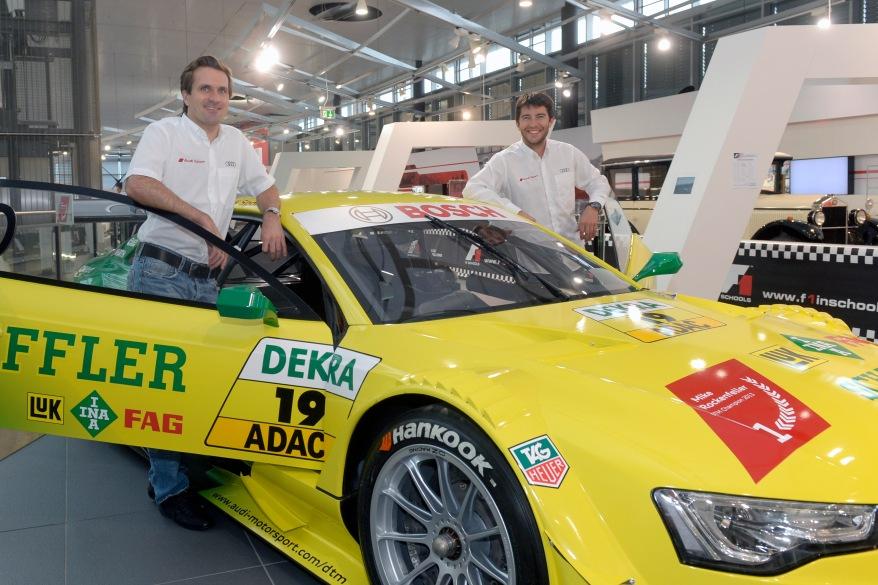Markus Winkelhock (D), Mike Rockenfeller (D), Audi RS 5 DTM ©Audi
