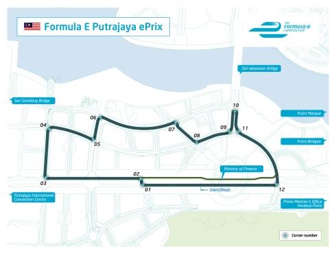 Putrajaya_Streckenlayout (c)Forme-e
