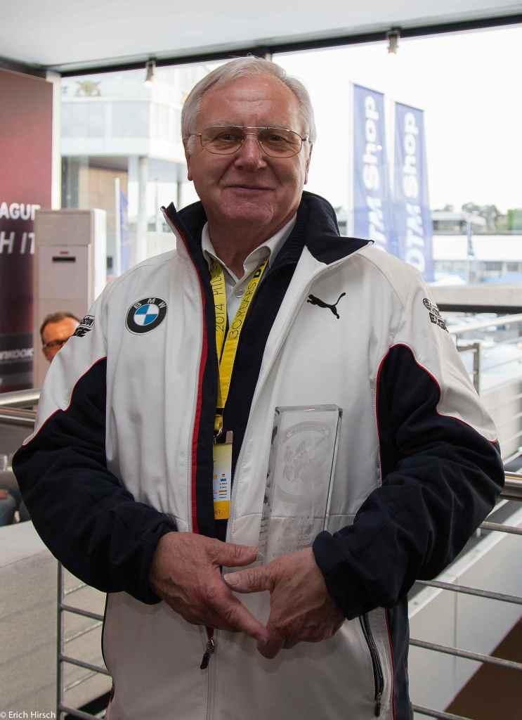 Herbert Schnitzer mit dem Pit Stop Award (c)Erich Hirsch