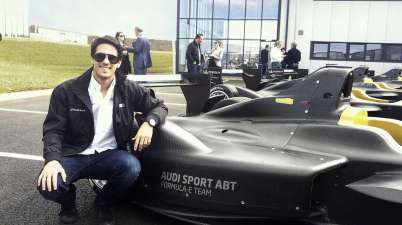 Lucas di Grassi (c)Audi Abt