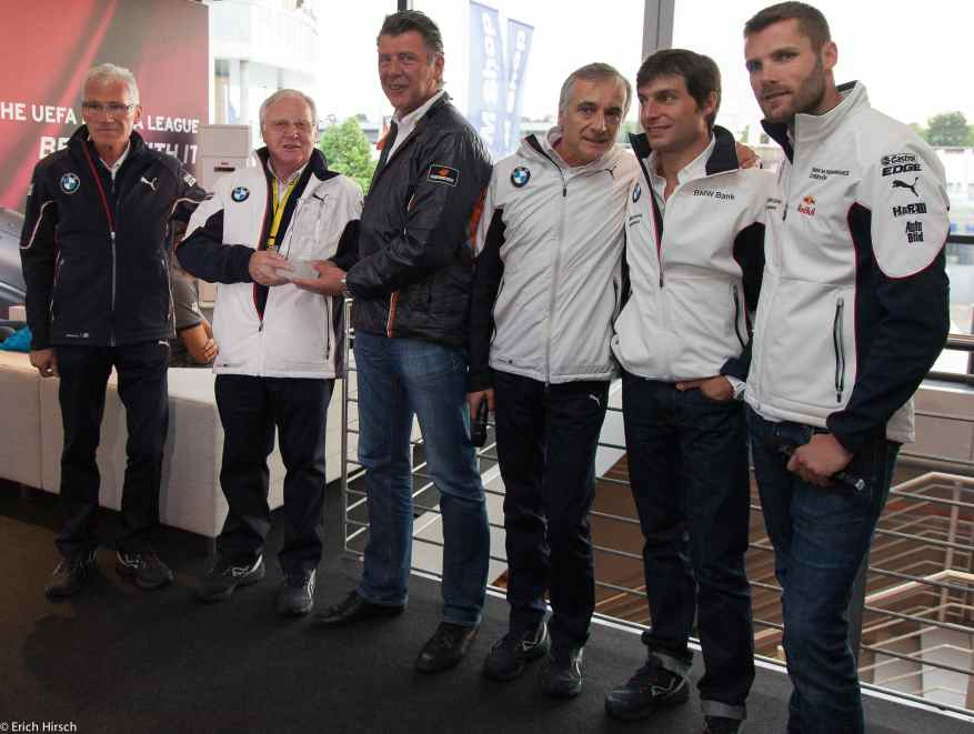 Schnitzer-Crew bei Hankook (c)Erich Hirsch