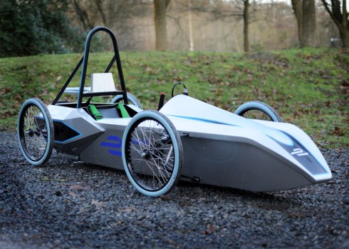 One of the FE School Series electric kit cars (c)Formula E