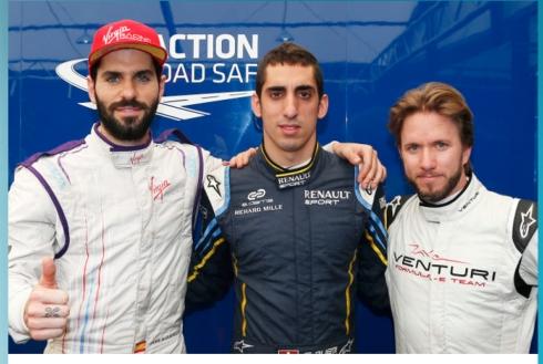 Jaime Alguersuari, Sebastien Buemi, Nick Heidfeld (c)FormulaEni,