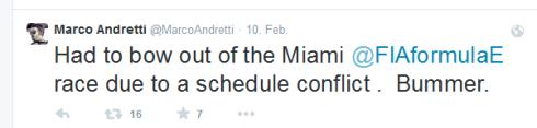 Marco Andretti_Twitter_Miami (c)Twitter