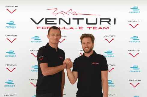 Stephane Sarrazin und Nick Heidfeld (c)Formula E