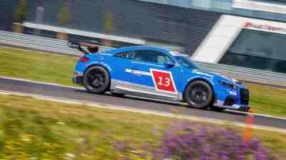 Audi TT cup Training in Neuburg am 5.Juni 2015 (c)Audi