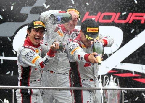 Nico Müller & Co (c)Audi