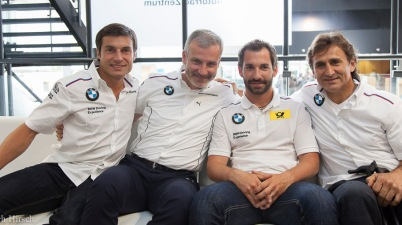 Dreamteam um Motorsportdirektor Jens Marquardt (c)Erich Hirsch