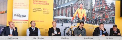 Die Jury des DHL Blu Sky Award (c)Erich Hirsch