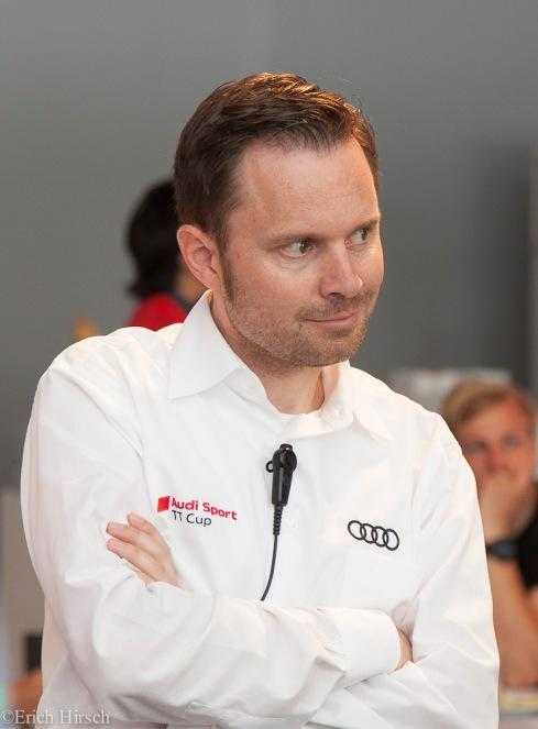 Rolf Michl, Audi TT Cup Leiter (c)Erich Hirsch