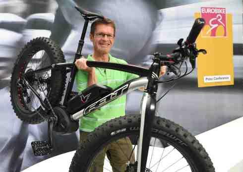 EUROBIKE 2015 mit Mountainbikes auf e-Motoren (c)Messe Friedrichshafen/Eurobike