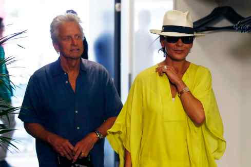Michael Douglas, Catherine Zeta-Jones in Spielberg (c)DTM