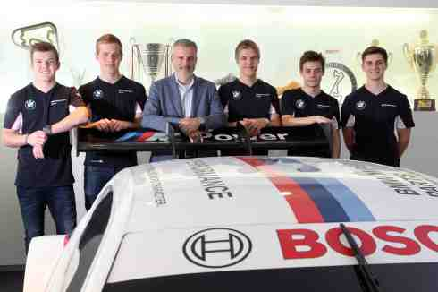 BMW Motorsport Junior Program 2015, Munich (c)BMW