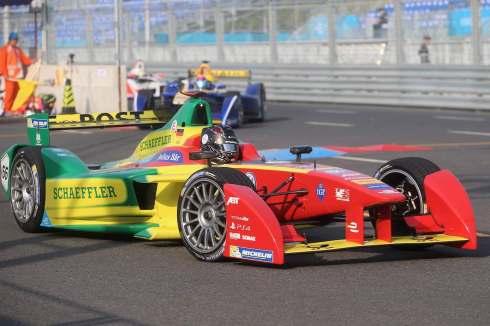 Daniel Abt ,FIA Formula E, Peking (c)Abt