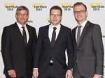 Fritz Enzinger , Andreas Seidl (beide Porsche) und Lars Soutschka_ADAC, (c)Erich Hirsch)