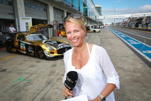 Julia Josten (c)ADAC GT/ADAC Motorsport