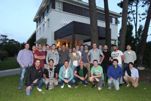 Abt-Team in Punta del Este (c)Abt