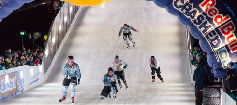 RedBull Crashed Ice in München (c)Erich Hirsch