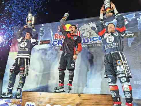 Sieger von Munich_Scott Croxall, Cameron Naasz,Kyle Croxall (c)Erich Hirsch