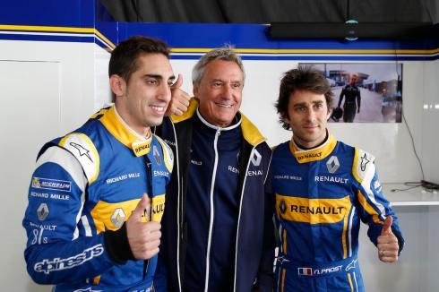 Renault e.dams-Team (c)FIAformulaE