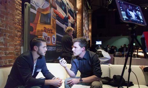 Daniel _Abt im Interview mit Timo Pape (c)Erich Hirsch