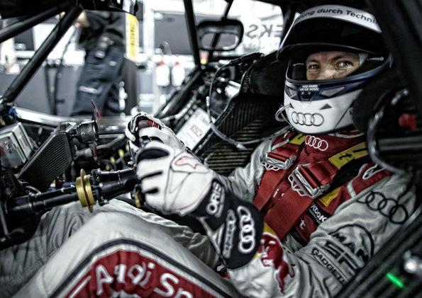 Audi RS 5 DTM Test Car, Mattias Ekström