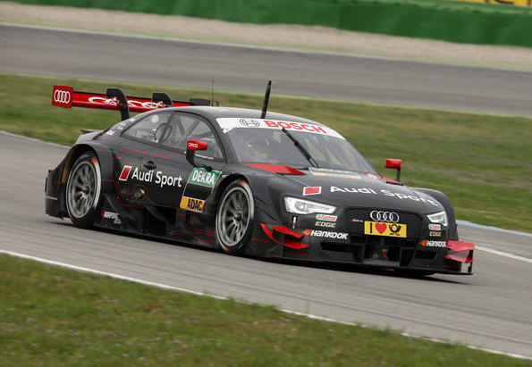 Audi RS 5 DTM Test Car, Nico Müller (c)AudI