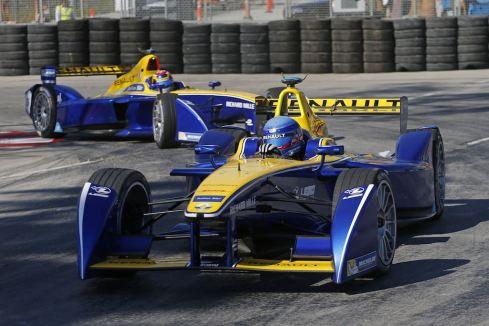 Renault e.dams-Piloten Prost und Buemi (c)Renault