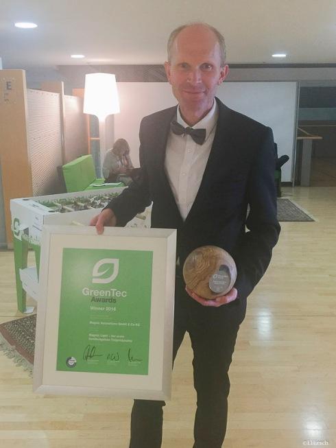 GreenTec Award 2016 Preisträger Dirk Strothmann (c)EHirsch
