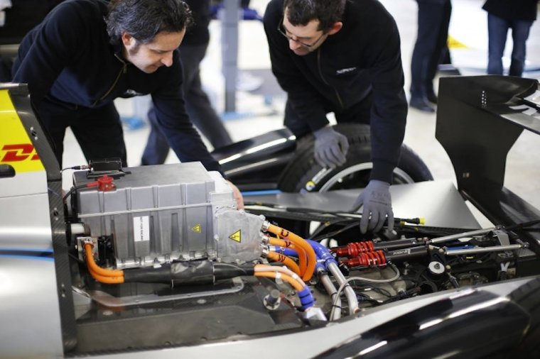 Batterie der Formel E (c)FIAformulaE