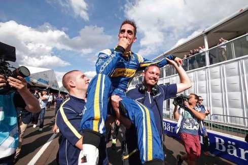 FE Champion Sebastien Buemi (c)edams Renault