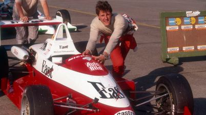 Motorsport-Legende Michael Schumacher Formel 3 - 1990 (c)VW,Kräling