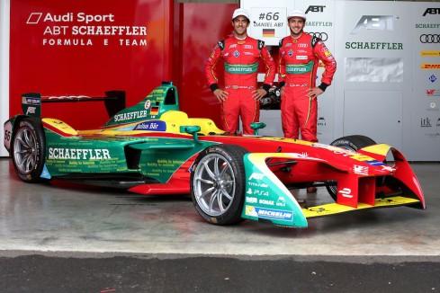 FIA Formula E, Test Donington (c)ABT Schaeffler