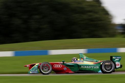 ABT Team beim Formula E, Test Donington (c)ABT
