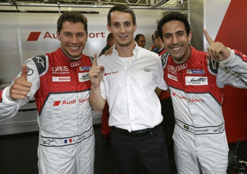 Audis Pole-Setter in Mexico,WEC (c)Audi