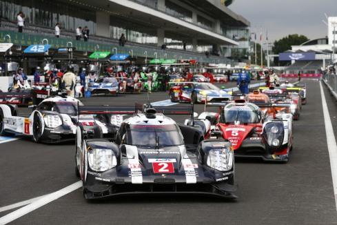 Porsche LMP1-Fahrzeuge (c)Porsche