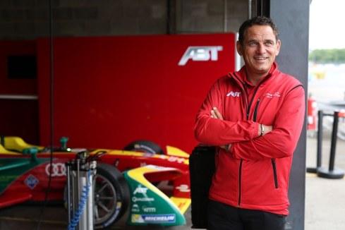 Hans Juergen Abt,FIA Formula E, Test Donington (c)ABT