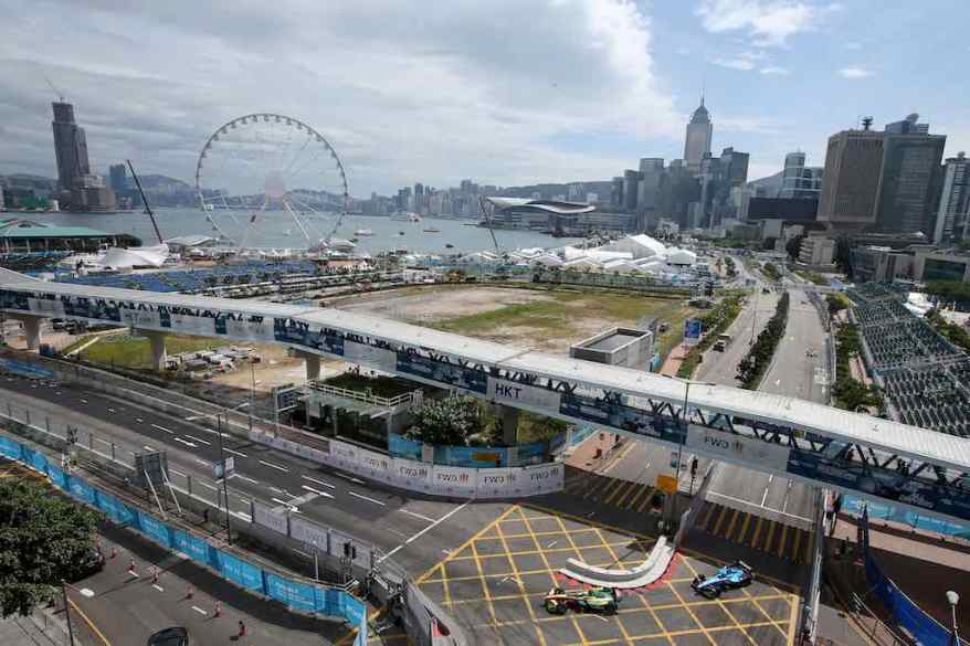 FIA Formula E, race 1 Hongkong (c)Audi