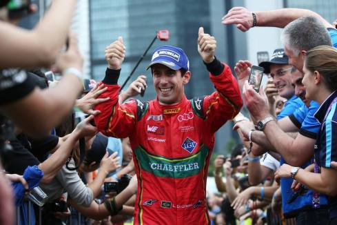 Lucas di Grassi,race 1 Hongkong (c)ABT