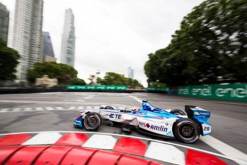 2016/2017 FIA Formula E Championship (c)BMW